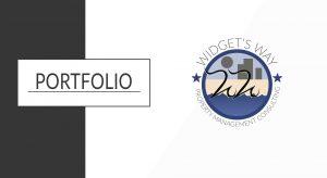 Portfolio banner for widgets way